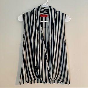 Saks Striped Blouse
